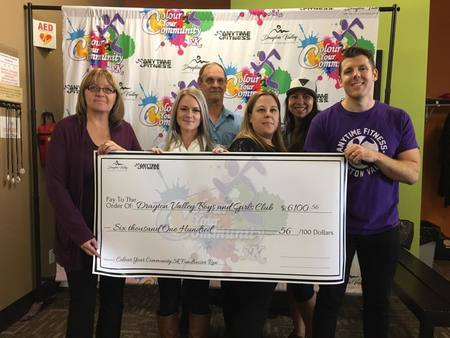 Color Run Donation Cheque Sept 2017